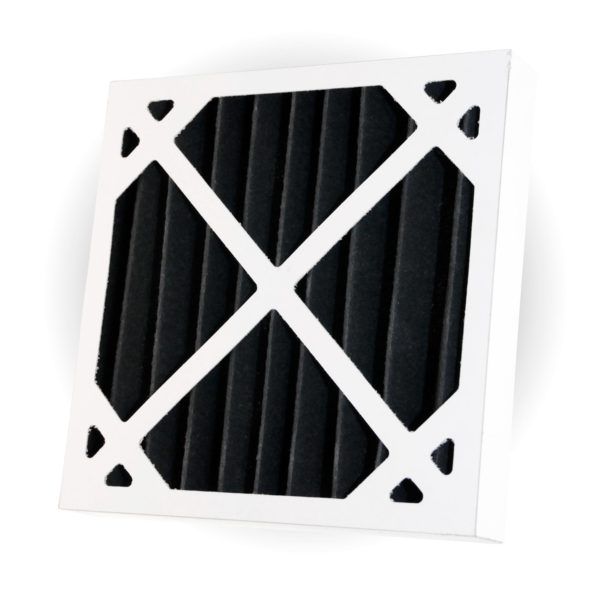 Activated Carbon Pleated Panel Air Filter Polyester Small