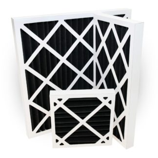Activated Carbon Pleated Panel Filter Various Sizes