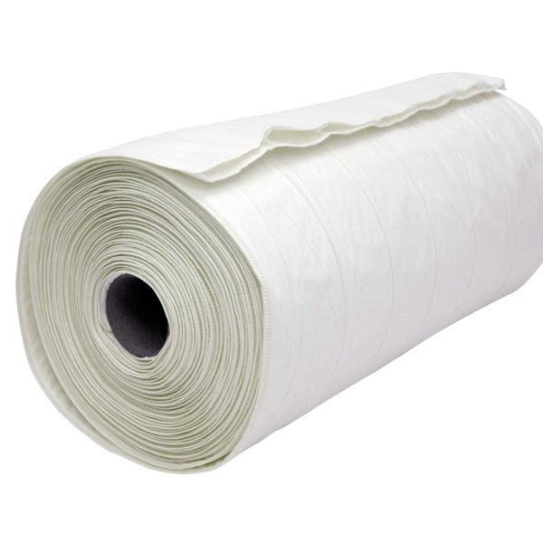 Welded Air Filter Media Rolls White F9 Polypropylene