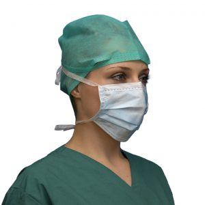 Anti Splash Standard Surgical Face Mask Side View FaceMate