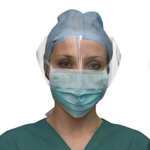 Anti Splash Specialty Surgical Face Mask Front View