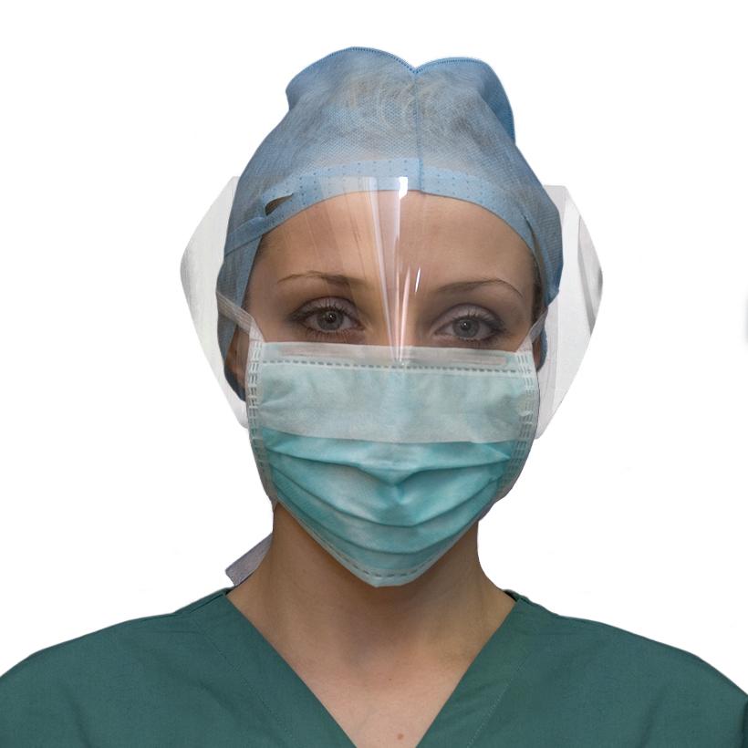 Anti-Splash Surgical Face Mask with Visor