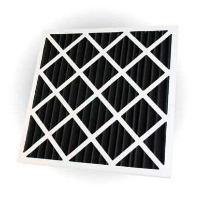 Activated Carbon Pleated Panel Air Filter Polyester Large