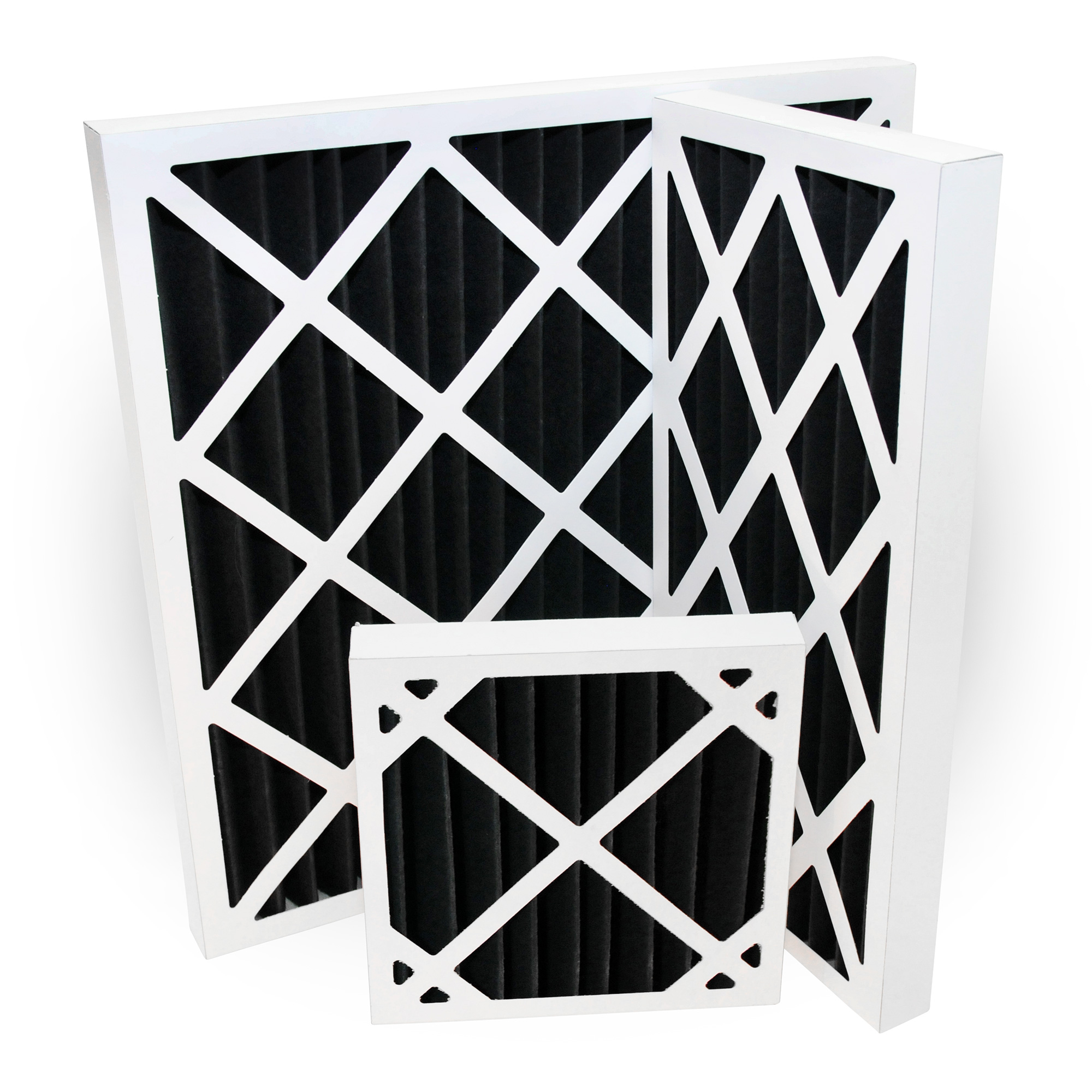 Activated Carbon Pleated Panel Filters