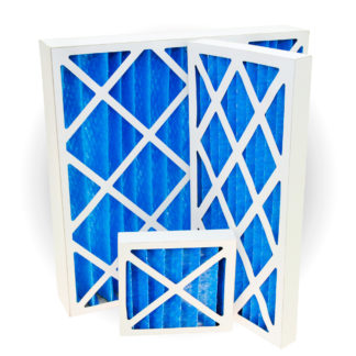 G4 Pleated Panel Air Filters Polyester Various Sizes