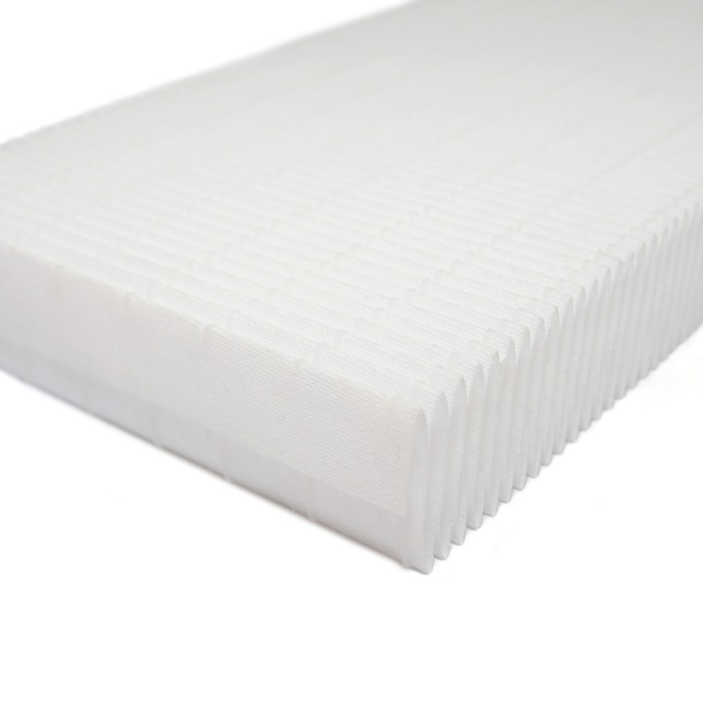 Pleated Air Filter Media Polypropylene F5-F9