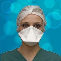 Respirator Face Masks Flat Fold
