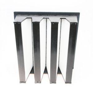 Rigid Compact Air Filter Polypropylene Rear View