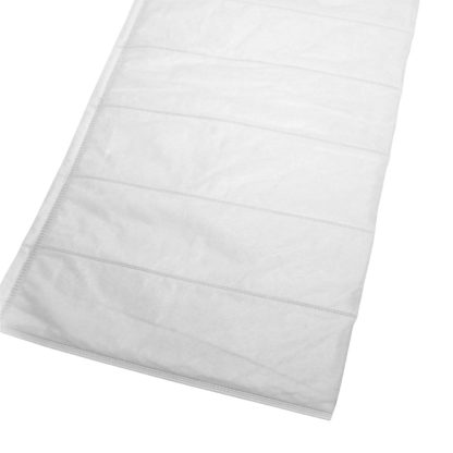 Cut Pockets Air Filter Media Polypropylene White F9