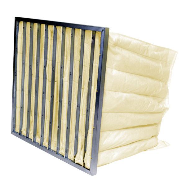 Pocket Air Filter Yellow F8 Polypropylene