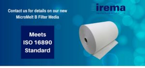 MicroMelt B: Meets ISO 16890 Standard: Irema Protecting People
