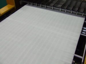 Pleating Machine used in Manufacturing Pre Filters for Pleated Panel Air Filters